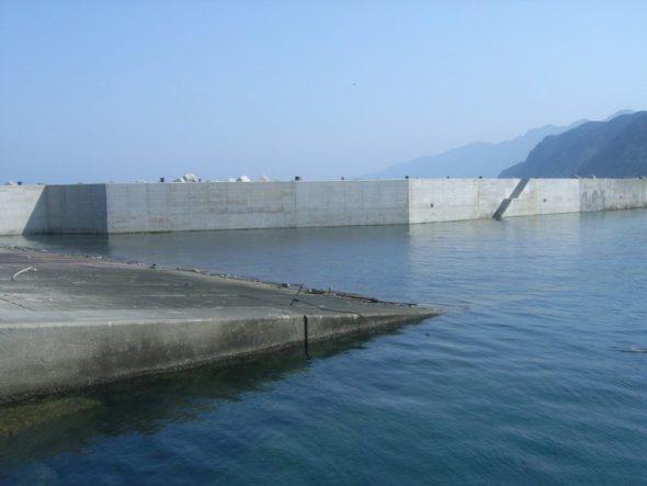 伊座敷漁港整備工事