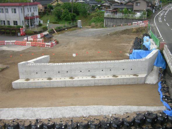 橋梁の下部工工事