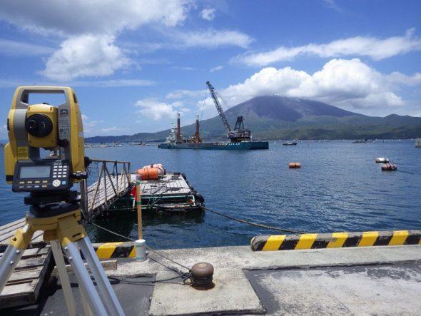 海潟漁港の整備工事