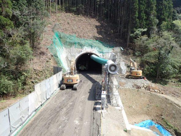 薩摩川内市の湯之元第1トンネル