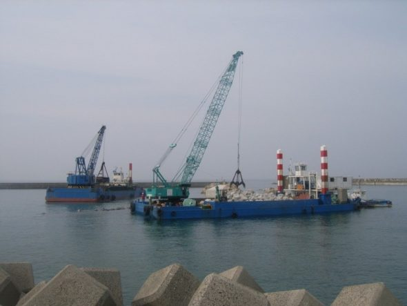 江口漁港整備工事