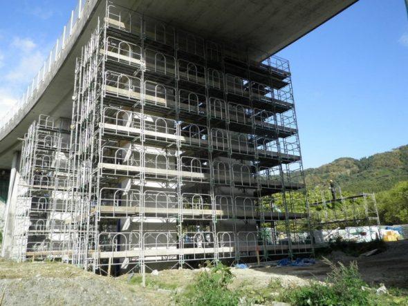 夏井新橋耐震補強工事