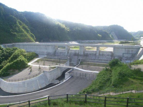 河川綜合開発工事 西之谷ダム
