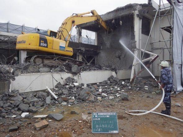 鹿児島養護学校既存校舎解体工事