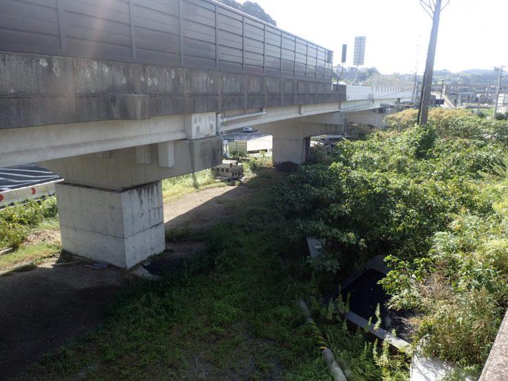 鹿児島東西道路 田上高架橋下部工(P3~P4)工事 着工前②