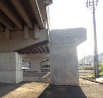 鹿児島3号東西道路田上高架橋下部工(P3-P4)工事