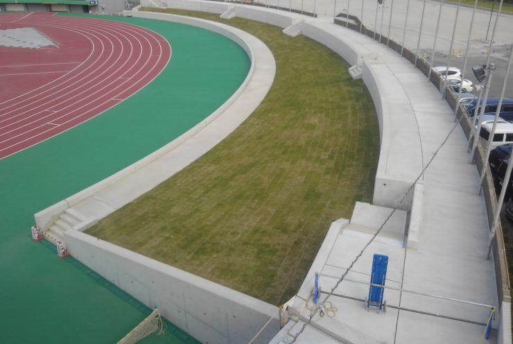 かごしま国体会場施設整備工事(陸上競技場29-8工区)