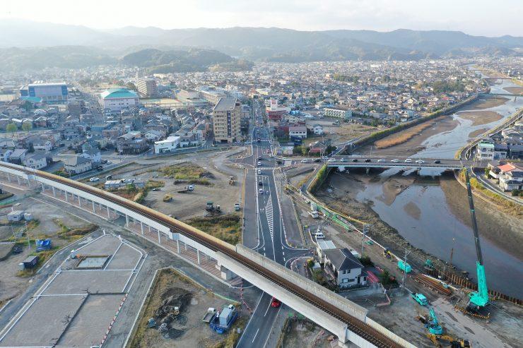 南清見諏訪線ほか1線幹線街路築造工事